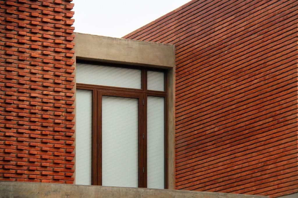 Revista estilo propio arquitectura y dise o arte y - Muros de ladrillo visto ...