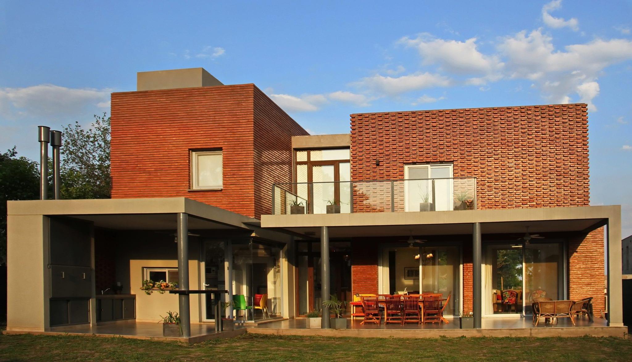 Revista estilo propio arquitectura y dise o arte y for Casa moderna ladrillo