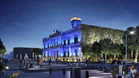 Remodelación y Organización del centro de la ciudad de Azul, 2do. Premio 7