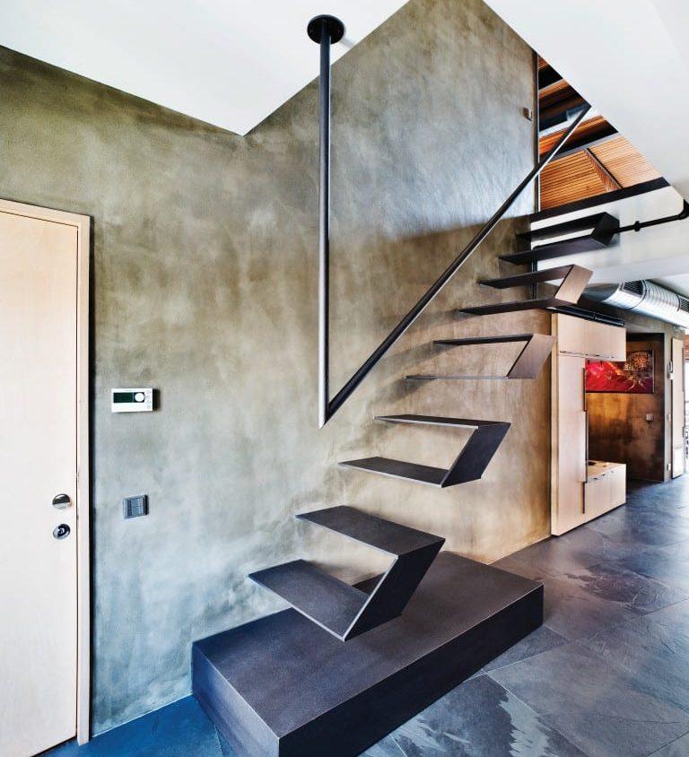 Inspiración en diseño de escaleras 12