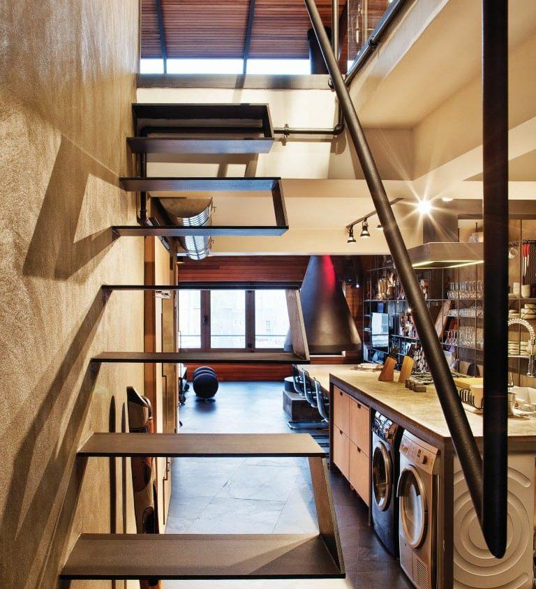 Inspiración en diseño de escaleras 13
