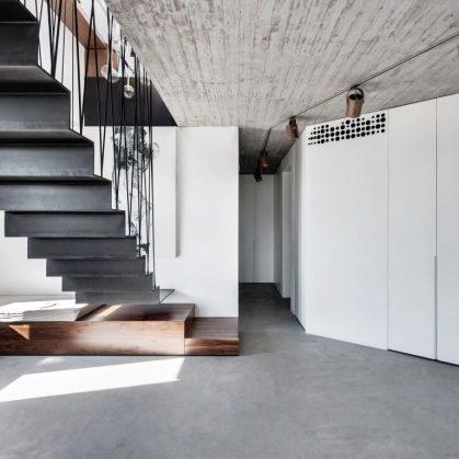 Inspiración en diseño de escaleras 33