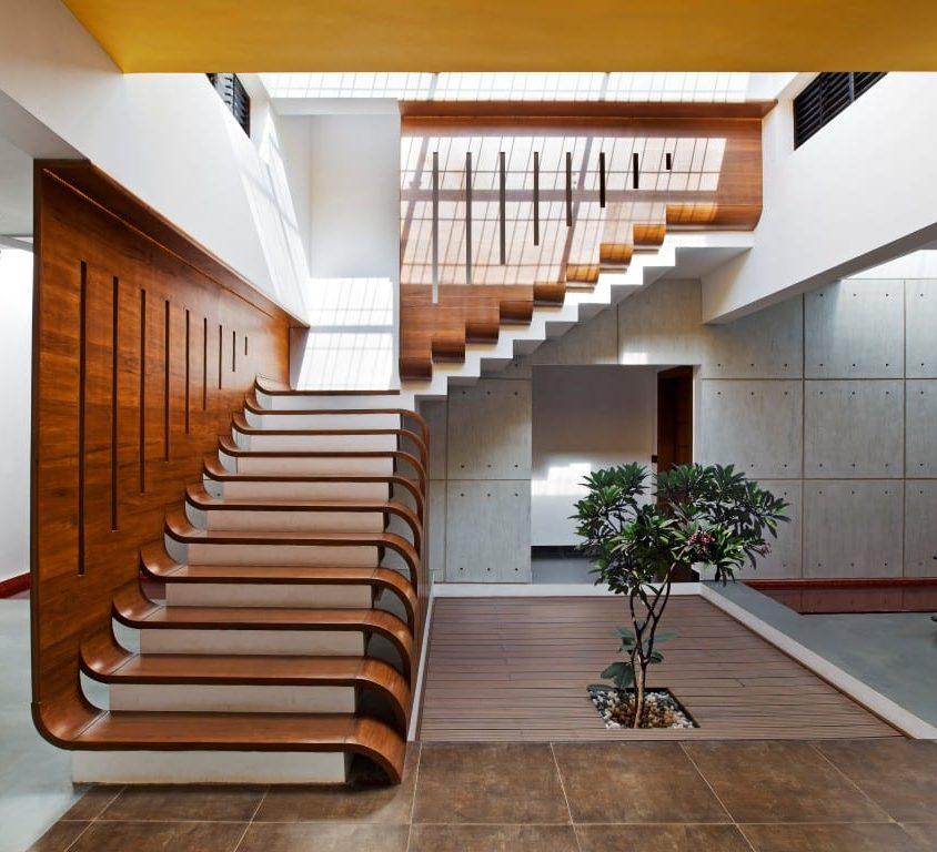 Inspiración en diseño de escaleras 28