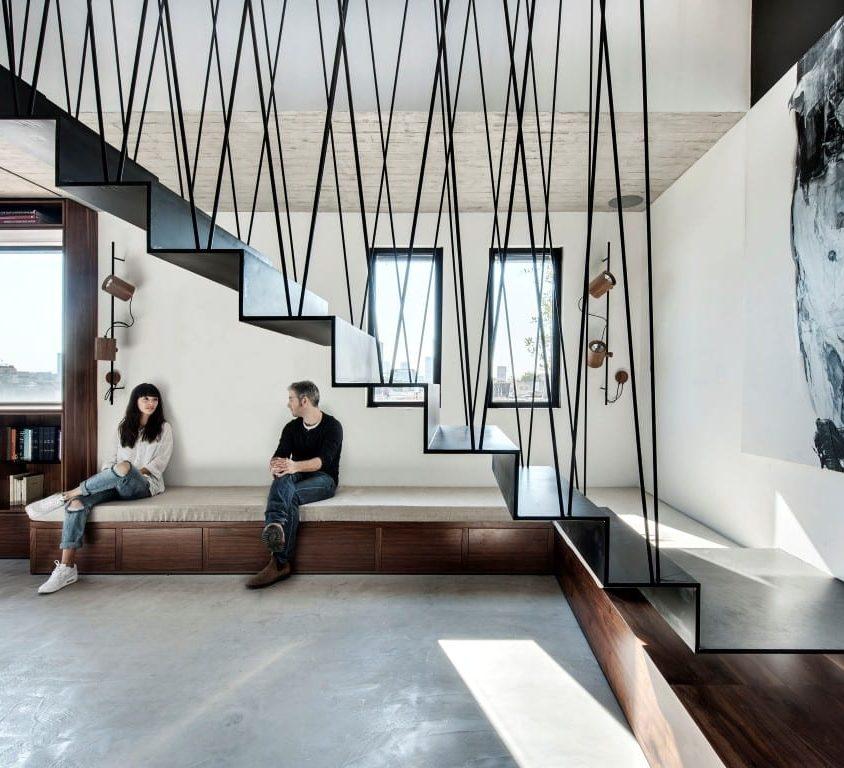 Inspiración en diseño de escaleras 32