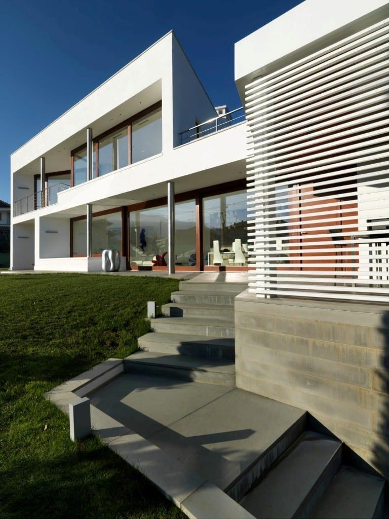 Ingresso Casa Esterno In Pietra b- house - revista estilo propio