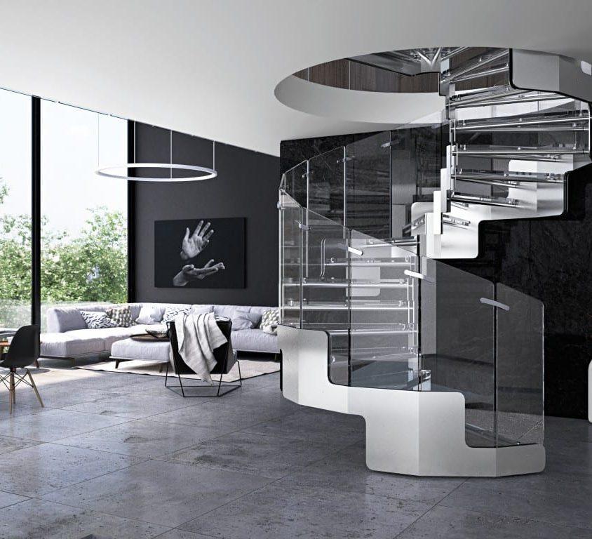 Inspiración en diseño de escaleras 7