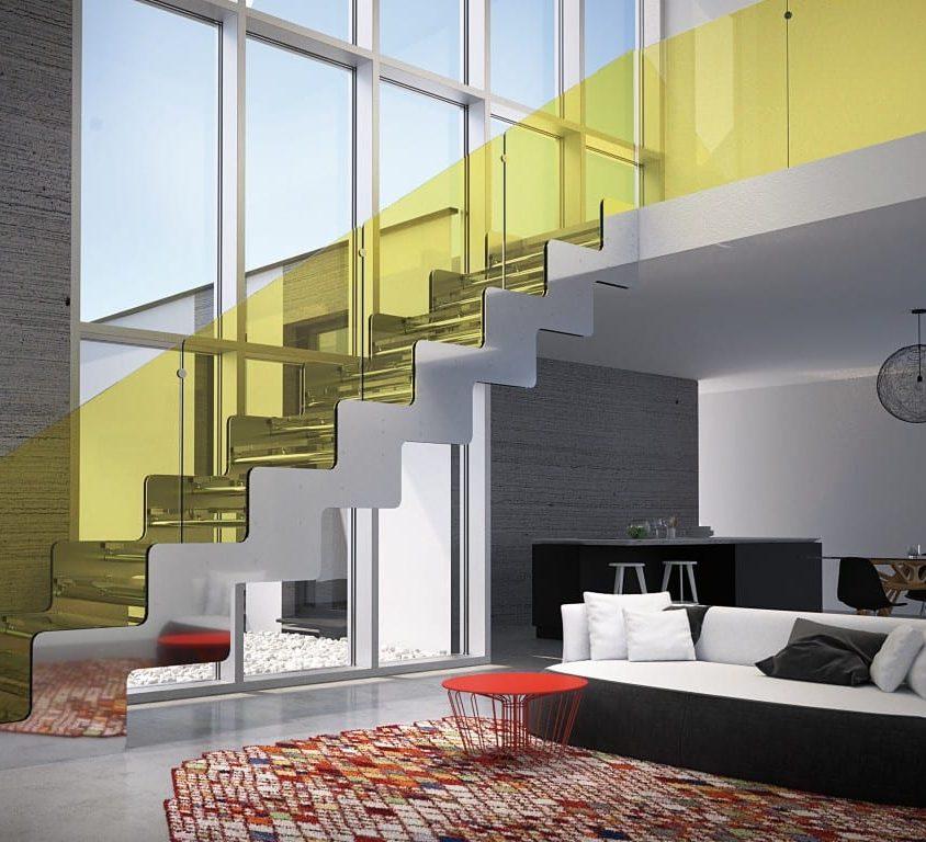 Inspiración en diseño de escaleras 8
