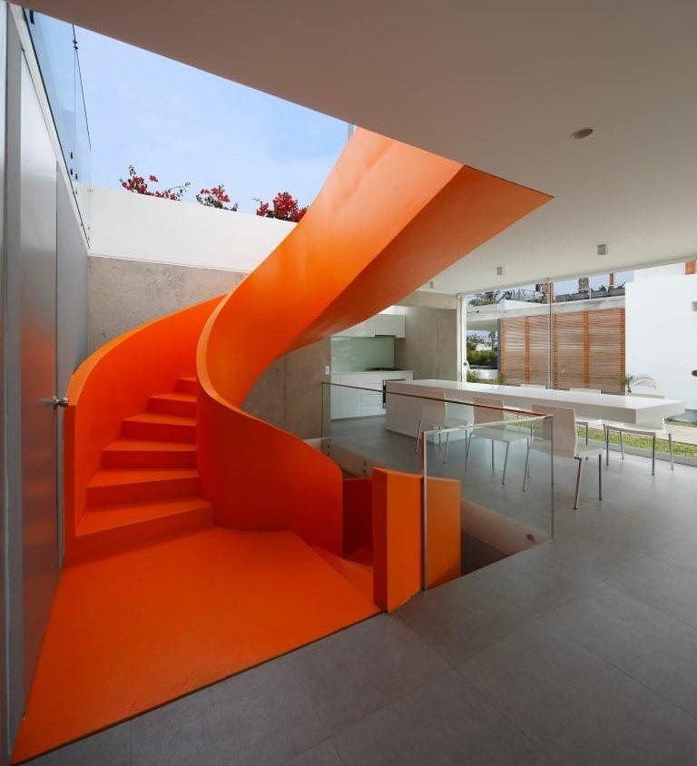 Inspiración en diseño de escaleras 10