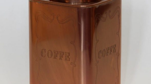 "Recipiente ""Coffee"" en bronce de Landmark 124"