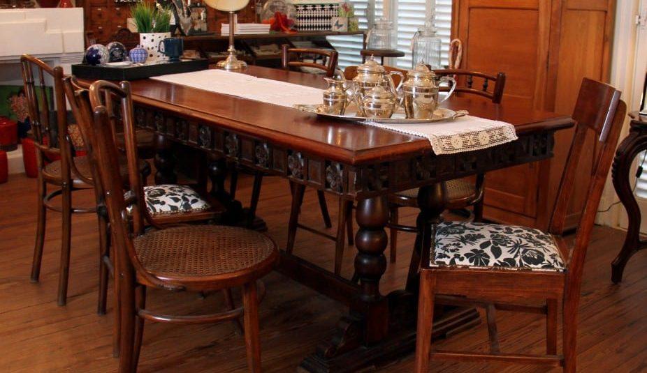 Mesa estilo colonial español 1