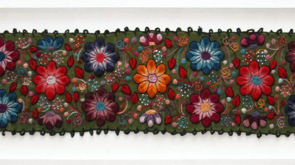Cuadro tapiz bordado a mano 28