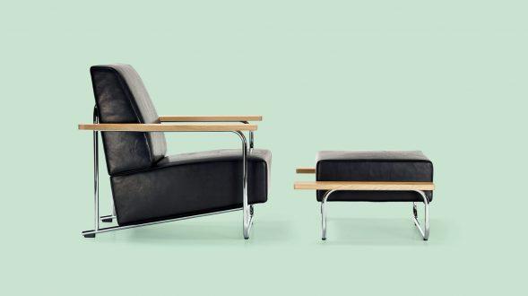Lovell Easy Chair/Ottoman Steelframe 11