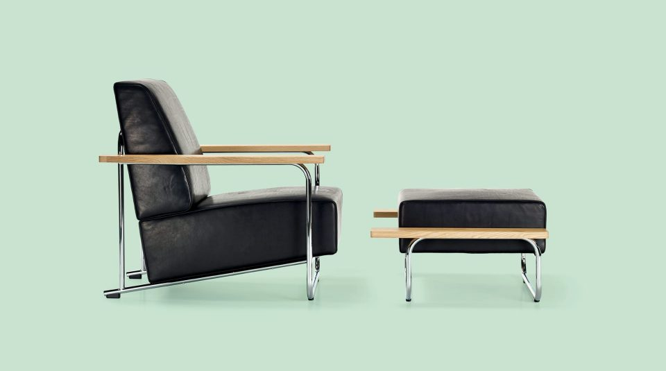 Lovell Easy Chair/Ottoman Steelframe 14