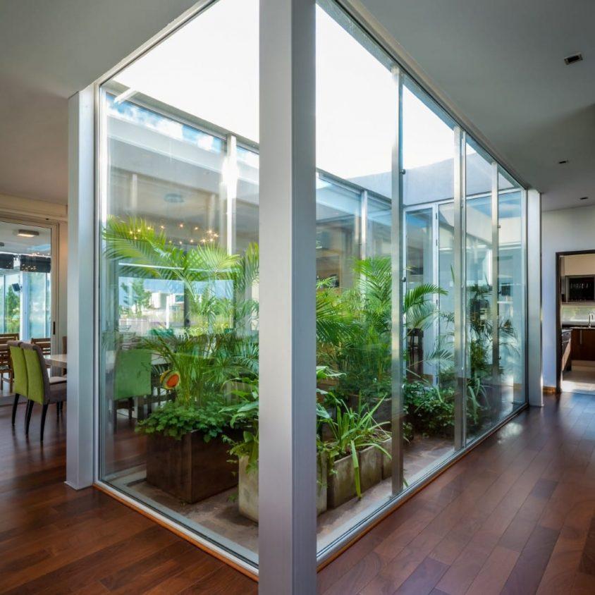 El jardín como estructurador de la vivienda contemporánea 13