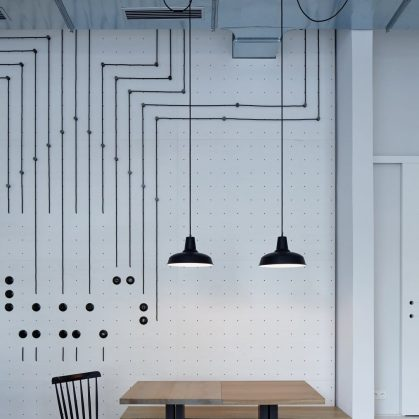 Iluminación personalizada en un Bar de Praga 2