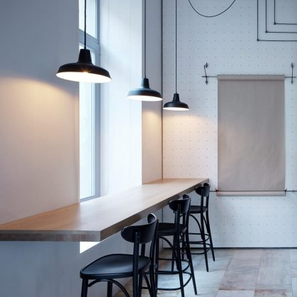 Iluminación personalizada en un Bar de Praga 6