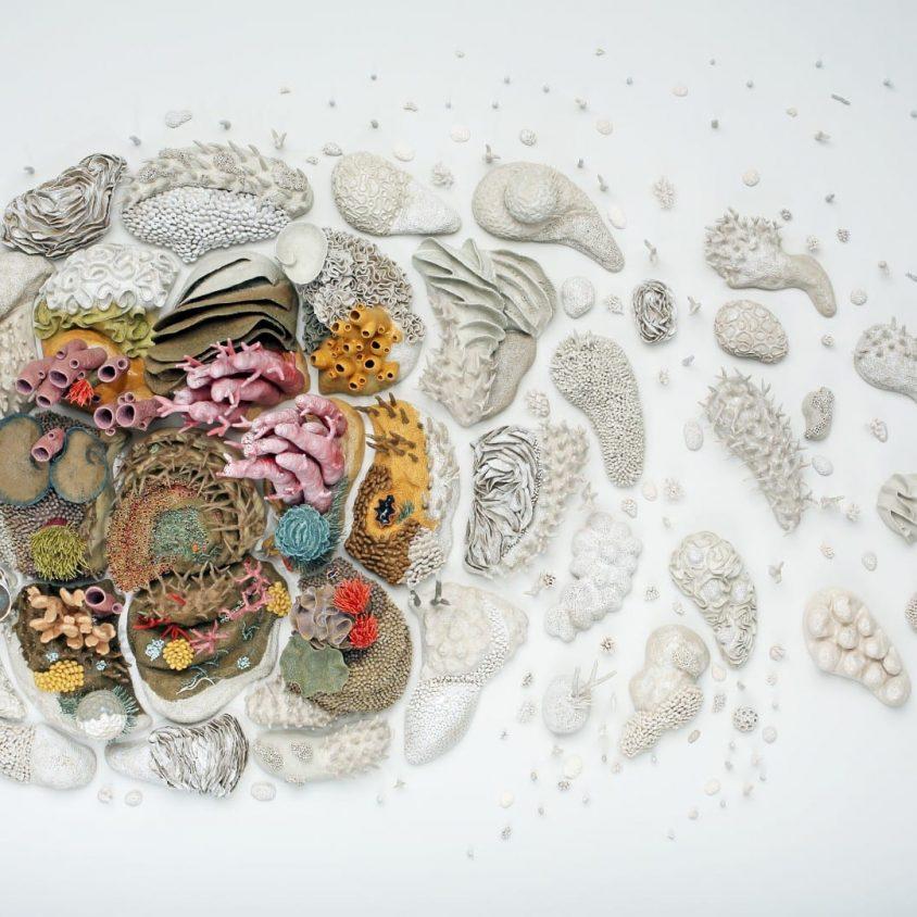 """Our Changing seas"", una obra de Courtney Mattison 1"