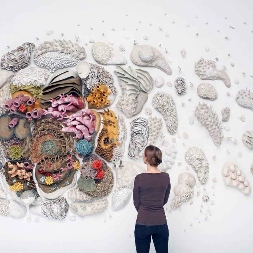 """Our Changing seas"", una obra de Courtney Mattison 3"