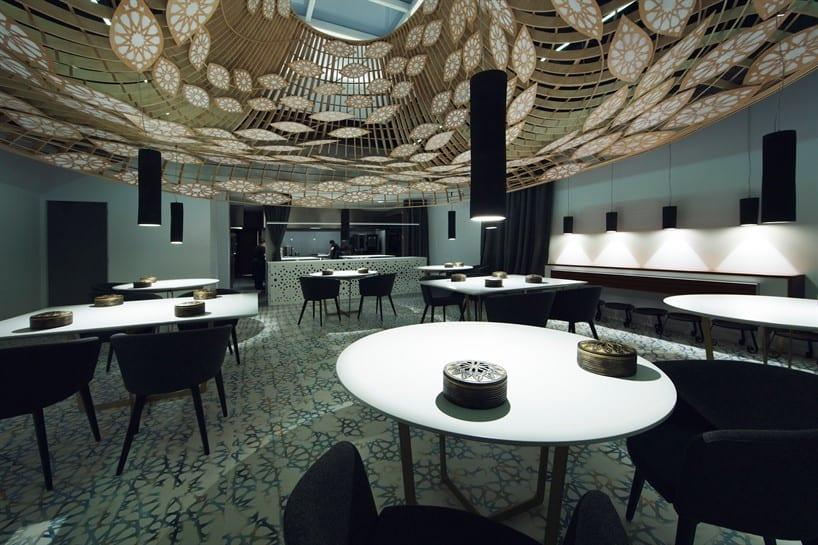 Noor Restaurante, Arquitectura Contemporánea con Alma Andaluza 7