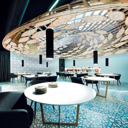 Noor Restaurante, Arquitectura Contemporánea con Alma Andaluza 8