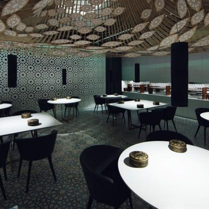 Noor Restaurante, Arquitectura Contemporánea con Alma Andaluza 9