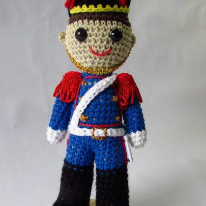 Personajes del Bicentenario en crochet 3