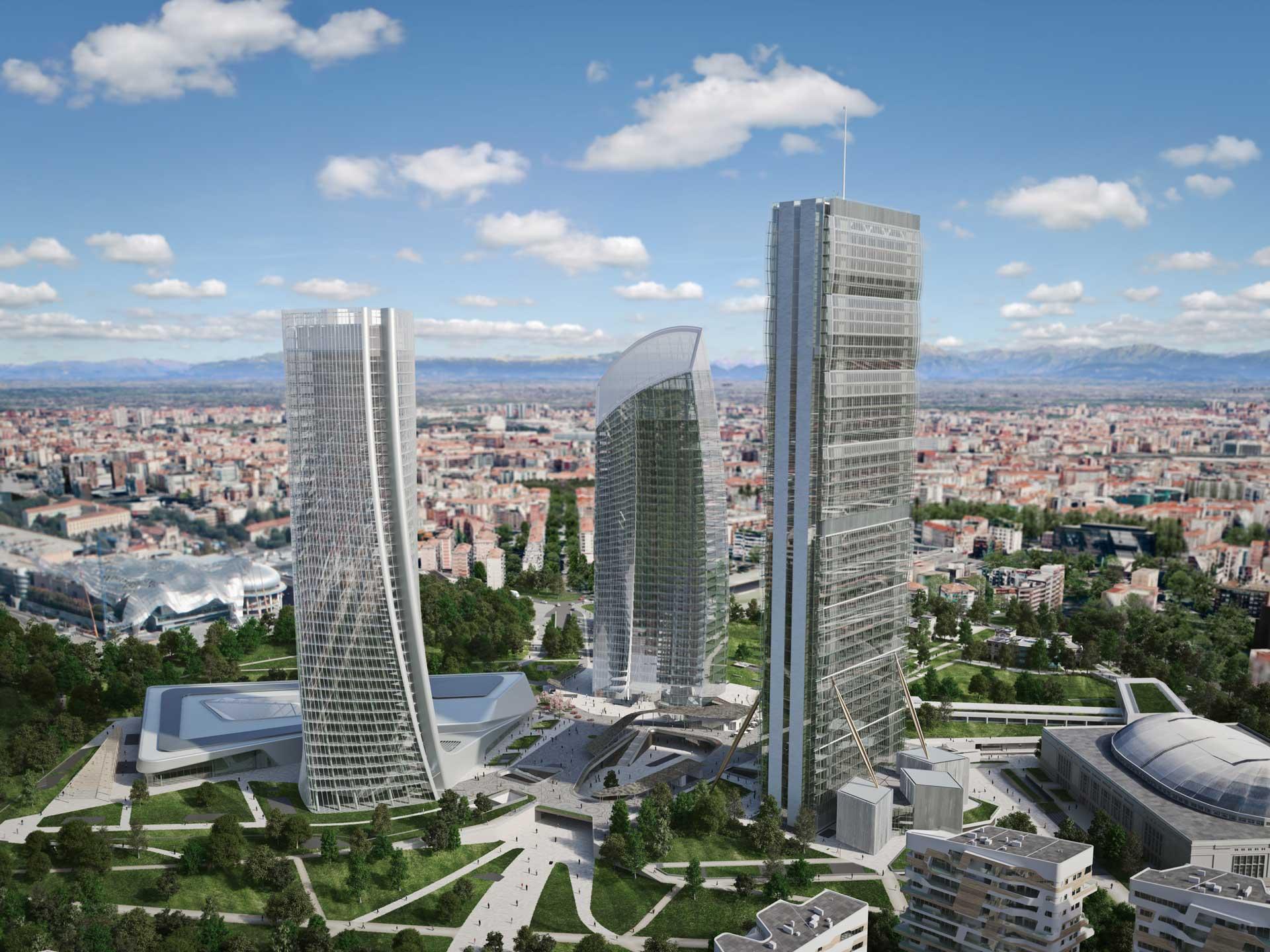 City Life Milano / Un Complejo Residencial de Zaha Hadid 3