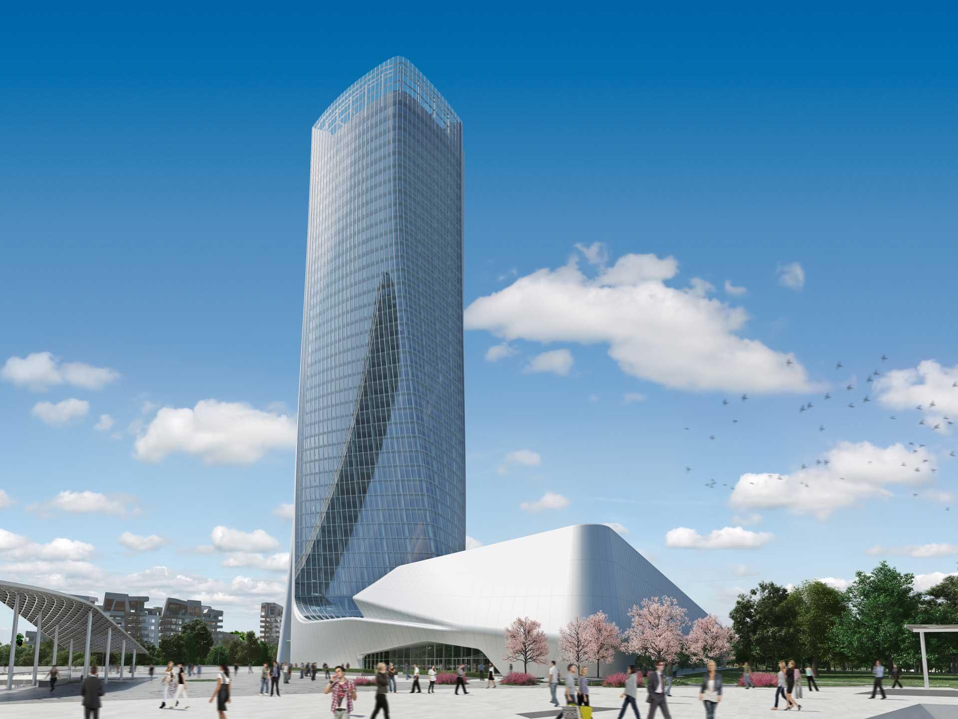 City Life Milano / Un Complejo Residencial de Zaha Hadid 7