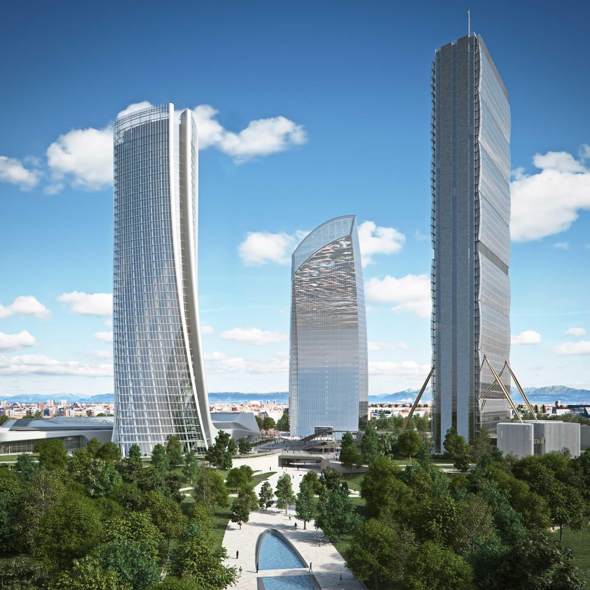 City Life Milano / Un Complejo Residencial de Zaha Hadid 9