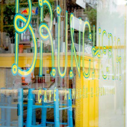 Brunchería: un bar con color 17