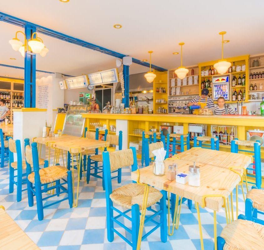 Brunchería: un bar con color 13