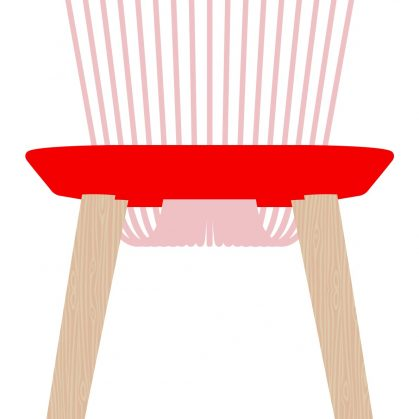 The WW Chair Colour Series 23