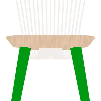 The WW Chair Colour Series 22