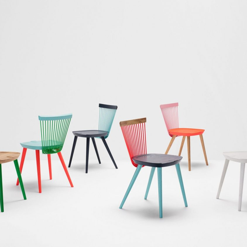 The WW Chair Colour Series 1