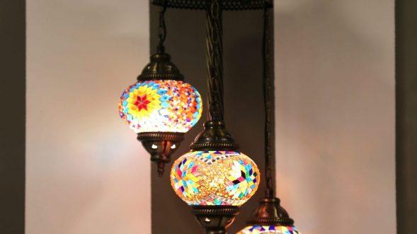 Lámpara marroquí 24
