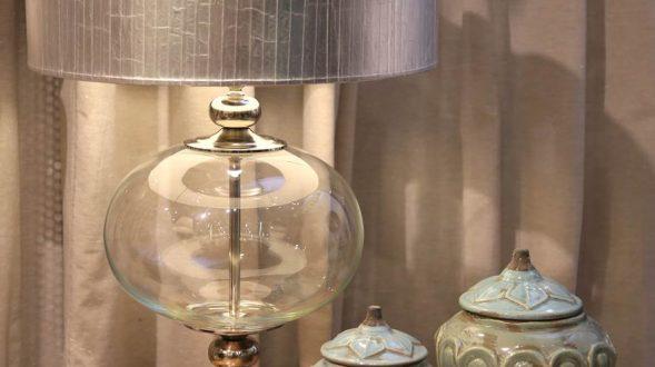 Lámpara bocha de vidrio 2