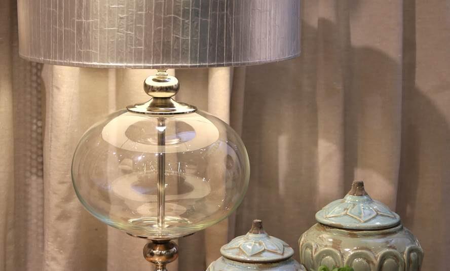 Lámpara bocha de vidrio 5