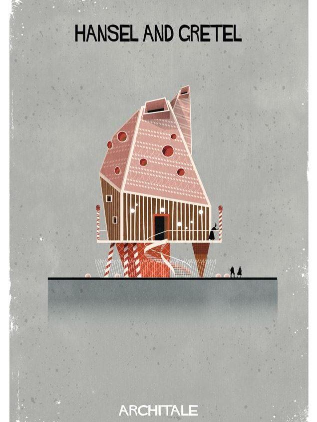 Cuentos de hadas narrados por la arquitectura 6
