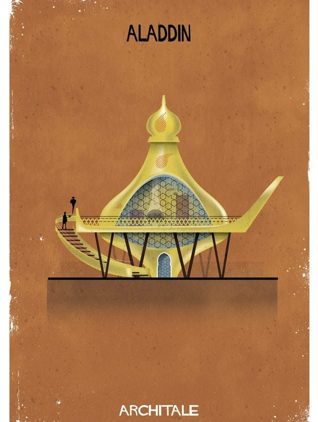 Cuentos de hadas narrados por la arquitectura 17