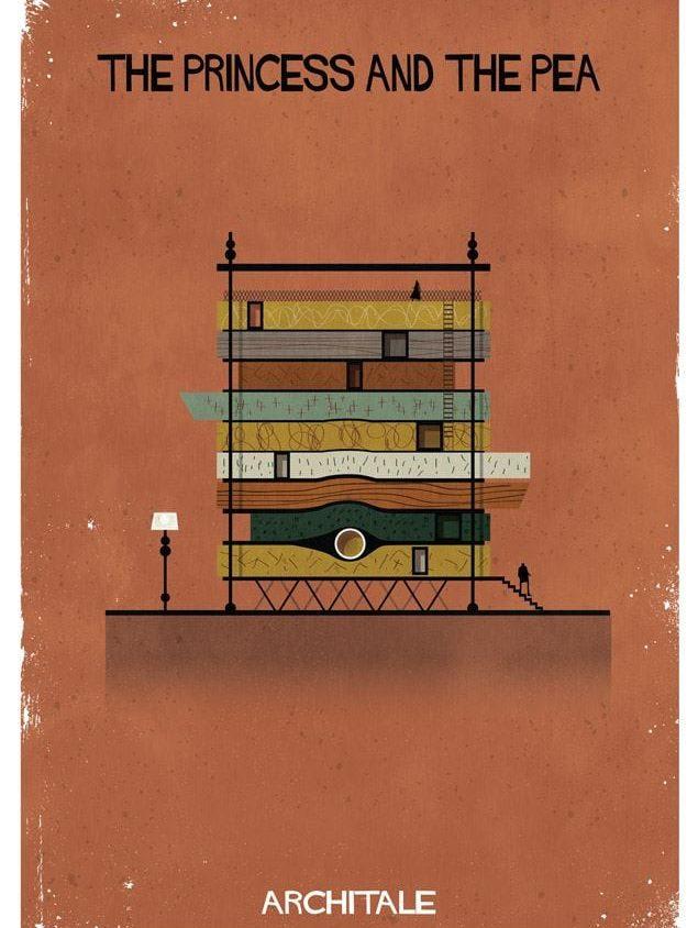 Cuentos de hadas narrados por la arquitectura 9