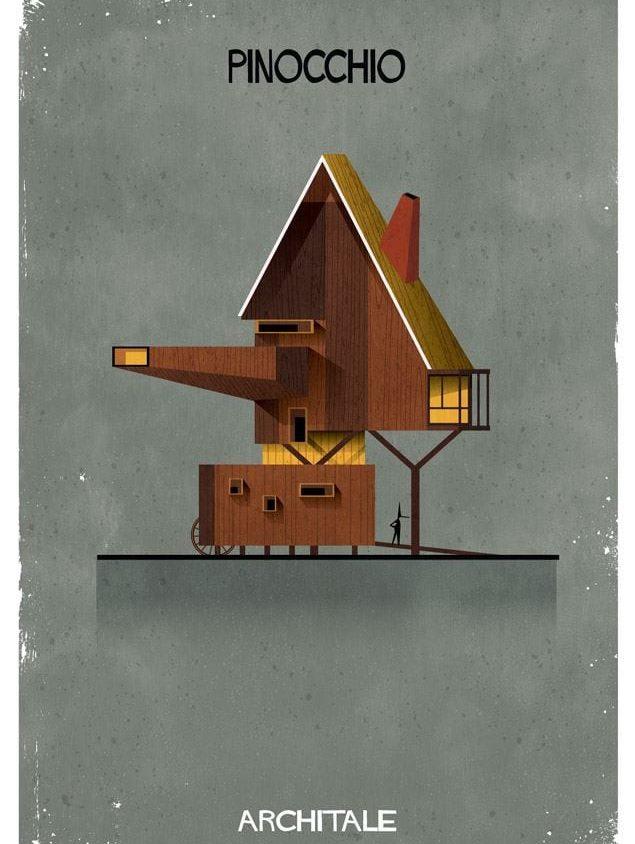 Cuentos de hadas narrados por la arquitectura 7