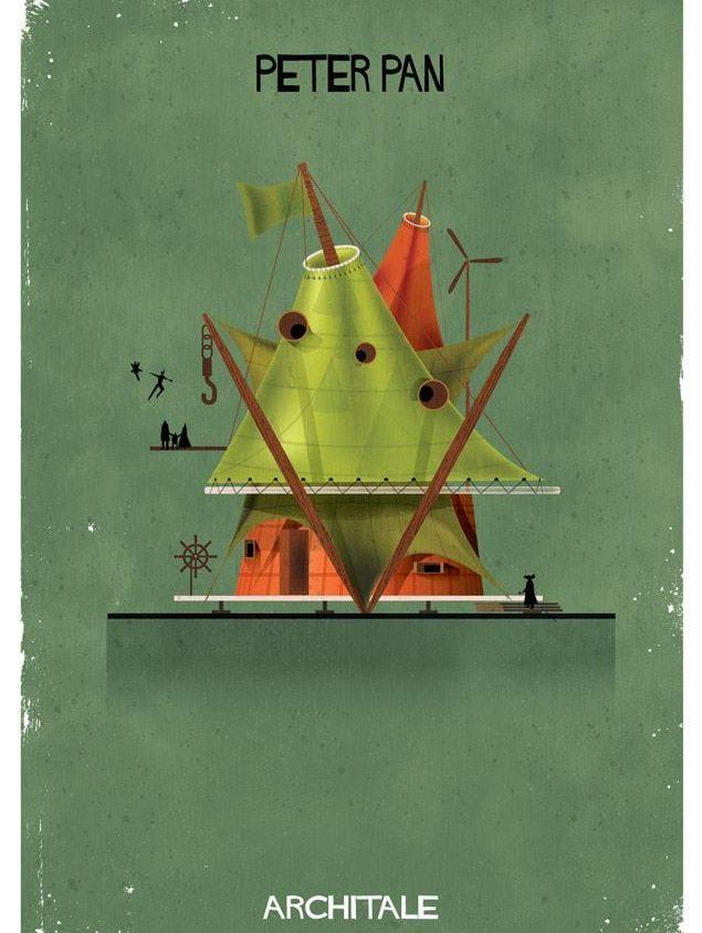 Cuentos de hadas narrados por la arquitectura 15