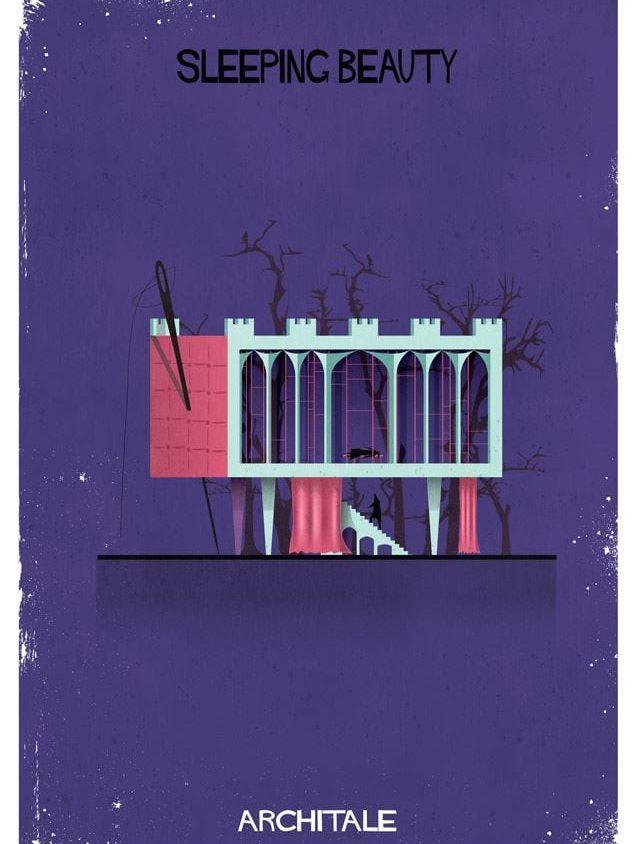 Cuentos de hadas narrados por la arquitectura 13