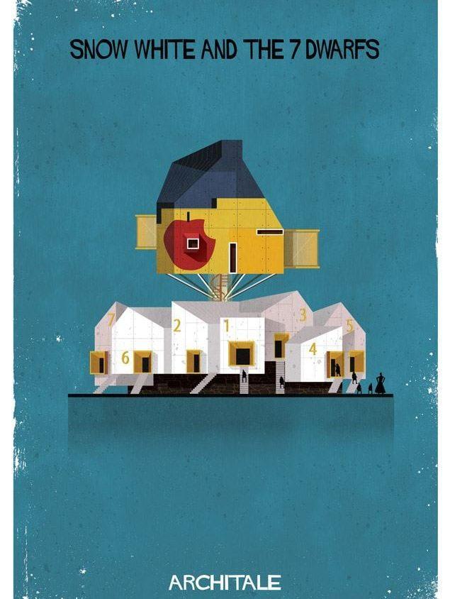 Cuentos de hadas narrados por la arquitectura 14
