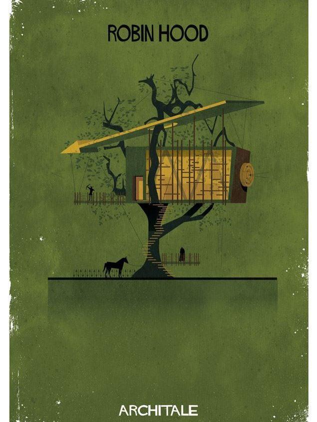 Cuentos de hadas narrados por la arquitectura 16