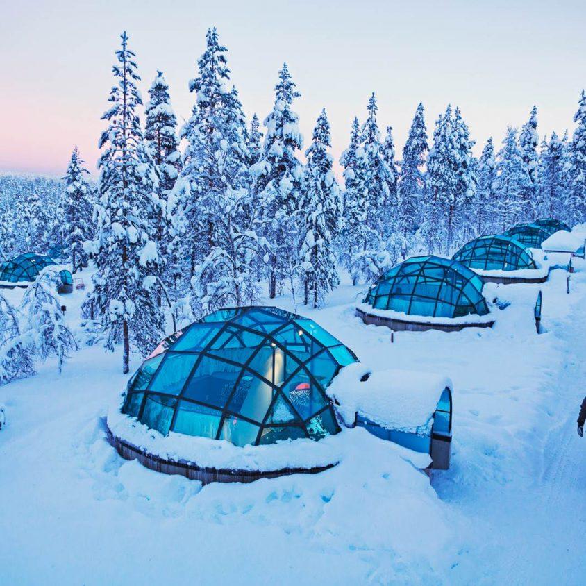 Viendo la aurora boreal desde la cama 7