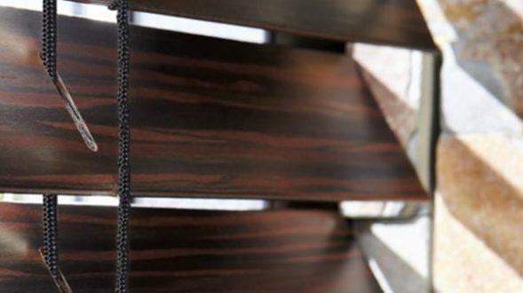 Persianas horizontales de madera 22