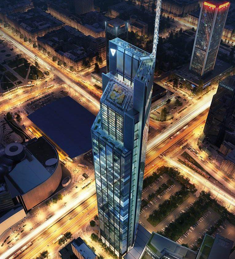 Varso, la torre más alta de Polonia 1