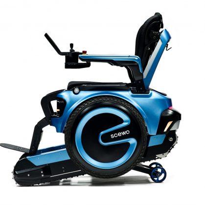 Una silla de ruedas todo terreno 2