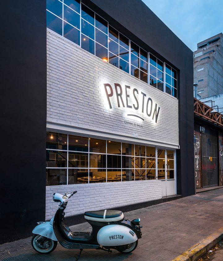 Preston, terminal de tablas. 1